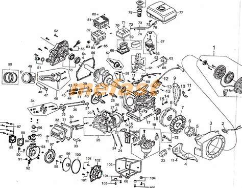 kenowa water parts 168f 11 engine schematic