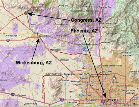 congress arizona map arizona mining claims list of local amenities for