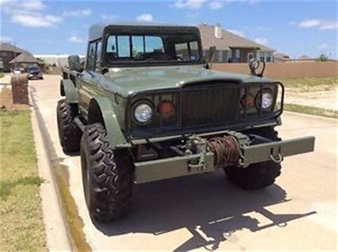 jeep kaiser lifted lifted jeep hummer m715 rock crawler truck