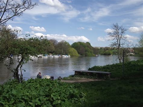 thames river ferry richmond panoramio photo of the thames at hammerton s ferry richmond