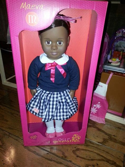 she has a new home maeve our generation doll from target