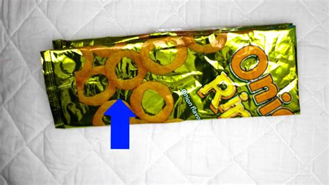 Crisp Packet Origami - how to make a crisp chips packet wallet