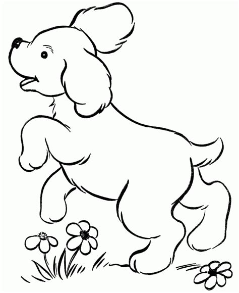 imagenes de animales jugando para colorear dibujos para colorear de perritos dibujoswiki com