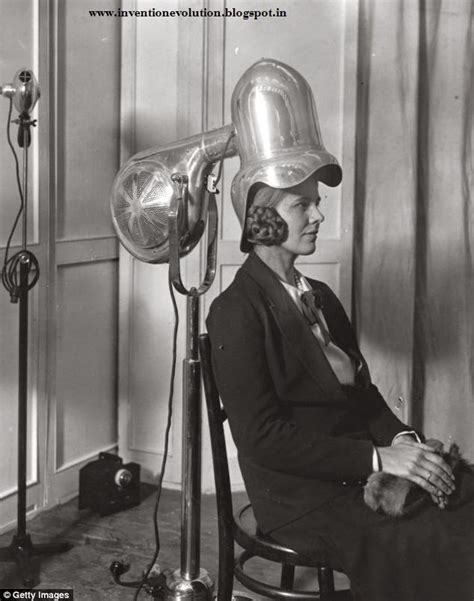 Hair Dryer Invented evolution of inventions hair dryer