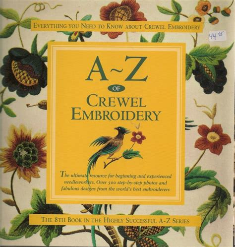 crewel embroidery a practical guide milner craft series books broderies raoul vennat cat 233 gorie