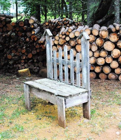 picket fence bench diy bench from picket fence so cute do it yourself