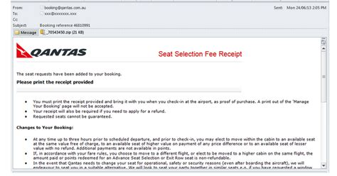 Email Qantas   gamarue malware spreading emails purporting to come from