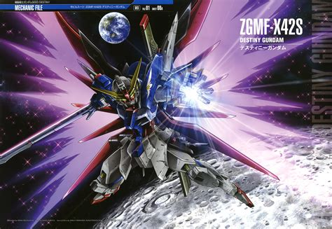 Gundam Destiny Rg 1 144 Destiny Gundam Review Sekai No Rakuen