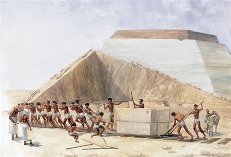 pyramid builders pyramid building