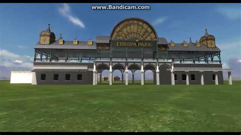 europa park eingang der europa park eingang im theme park studio