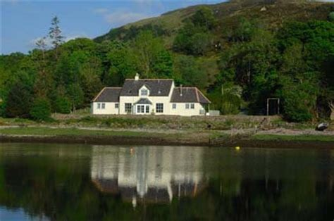Luxury Scottish Cottages By The Sea by Kirkfield House Glenelg Self Catering Rental By The Sea