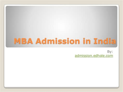 Mba In India Statistics by Mba Admission In India