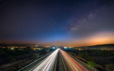 long exposure road landscape wallpapers hd desktop