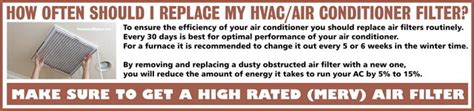 how often to replace air conditioner filter best