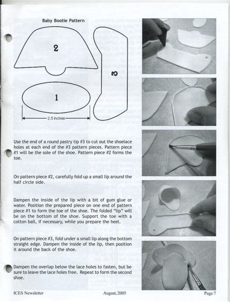 baby bootie template for gumpaste gumpaste baby shoe cakes and cupcakes