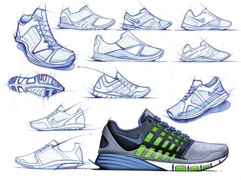 shoes designs sketches we like pencil sketch analog rendering
