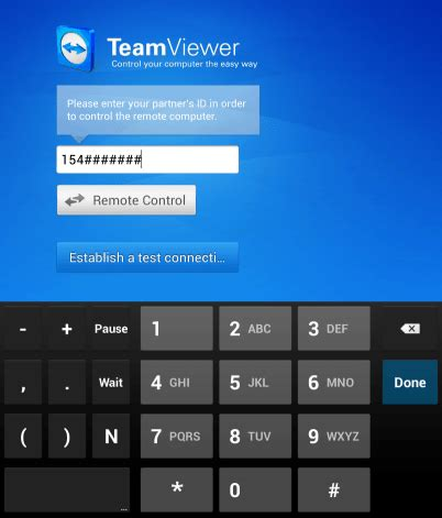 teamviewer for android your pc from your android device with teamviewer