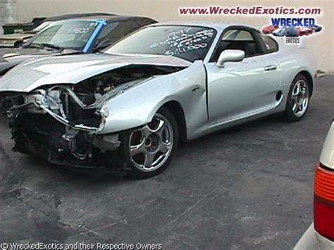 Toyota Supra Wrecked Wrecked Toyota Supra Photo S Album Number 389