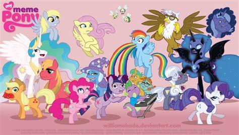 Meme Pony - my meme pony by williamshade on deviantart