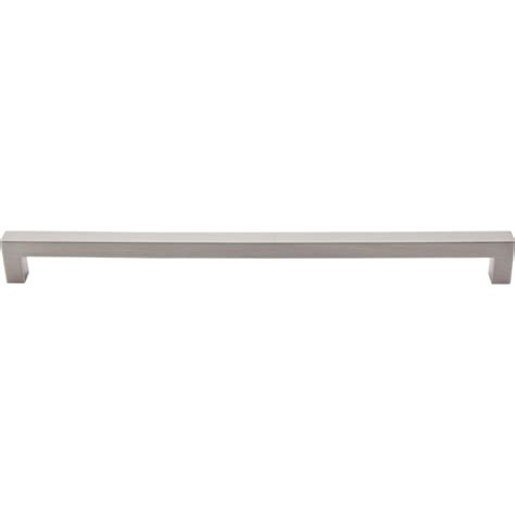 top knobs square bar pull top knobs square bar pull brushed satin nickel tkm1838