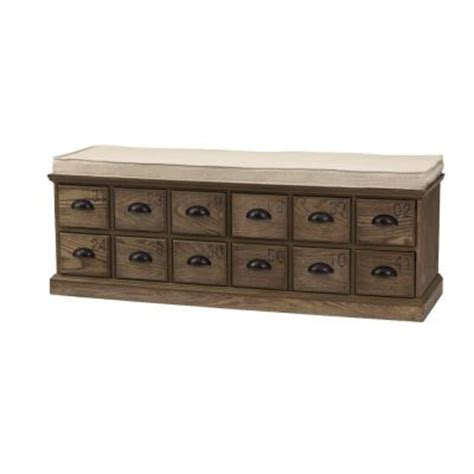 shoe storage home depot home decorators collection corollary 12 drawers driftwood