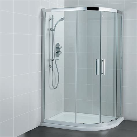 Ideal Standard Synergy Offset Quadrant 900 x 800mm Shower