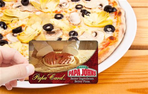 Papa Johns E Gift Card - papa john s pizza with paypal