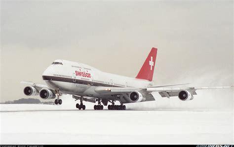 boeing 747 357 swissair aviation photo 1223169
