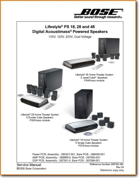 5 1 bose speakers system wiring diagram free