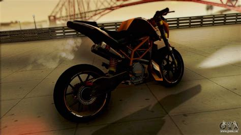 Gta 4 Cross Motorrad by Ktm Duke 125 F 252 R Gta San Andreas
