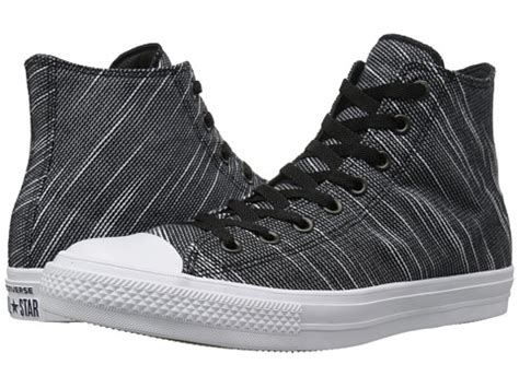 Converse Ct Ii 3 Holes Black converse chuck 174 all 174 ii knit hi black white