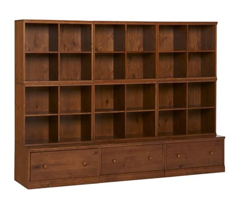 3 drawer dresser with cubbies cameron 6 cubby 3 drawer base storage system pottery