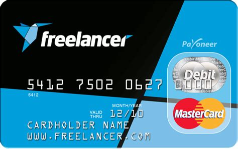 Credit Card Number Format Mastercard Freelancer Payoneer Prepaid Mastercard Freelance Projects