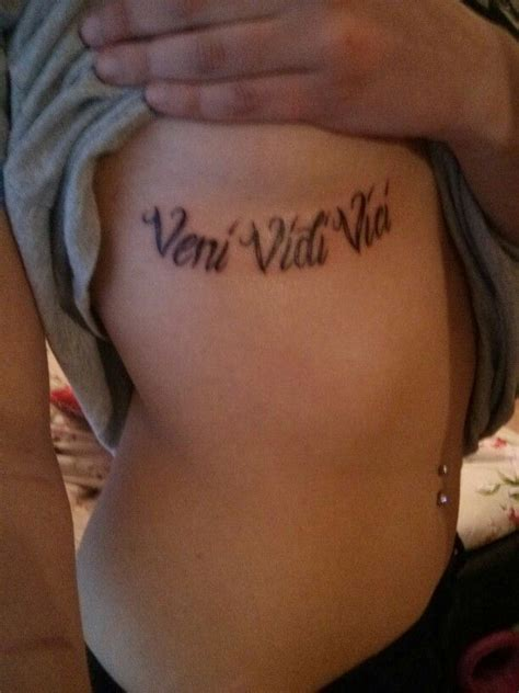 vidi veni vici tattoo designs 41 veni vidi vici designs with meaning tattoos spot