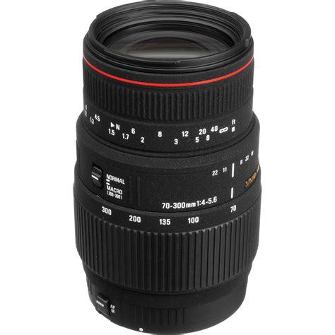 Lensa Sigma Apo Dg 70 300mm sigma 70 300mm f 4 5 6 apo dg macro autofocus lens 508110 b h