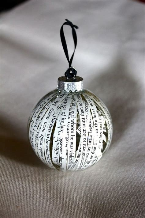 book ornament christmas pinterest