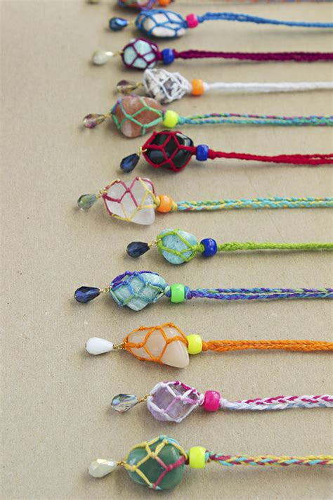 Easy Accessories To Make And Sell by Kid Friendly Bling 6 Diy Necklaces Handmade