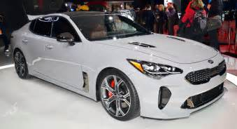 Kia Stinger New Kia Stinger Shows Its Colors In Detroit