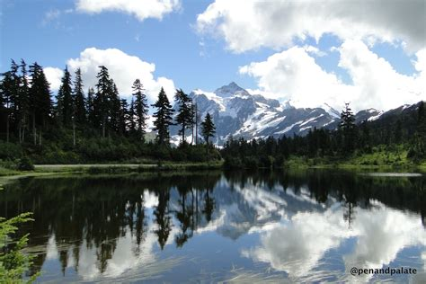 Washington State Address Lookup Mt Shuksan From Picture Lake Cascades National Park In Whatcom County Wa