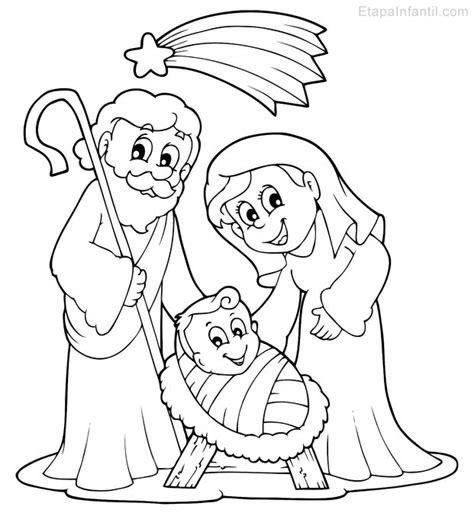 dibujos de navidad para colorear del nacimiento de jesus dibujo de navidad para colorear de nacimiento en bel 233 n