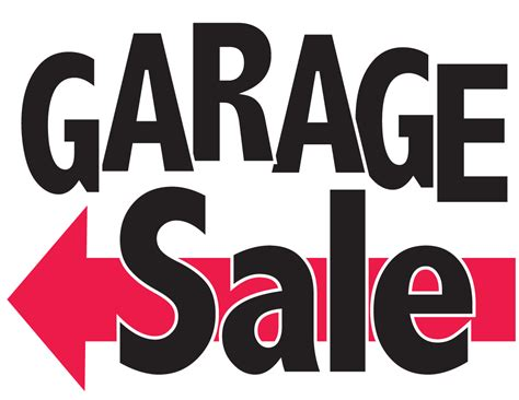 Garage Sales Neighborhood Garage Sale Beacon Hill Wichita Kansas