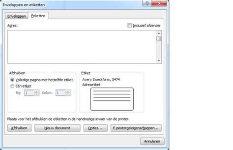 Word Vorlage Etiketten 70 X 37 etiketten maken met microsoft word moestuin forum