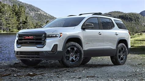 Gmc Canada 2020 by Auto Shows 2020 Gmc Acadia Refresh Revealed With New