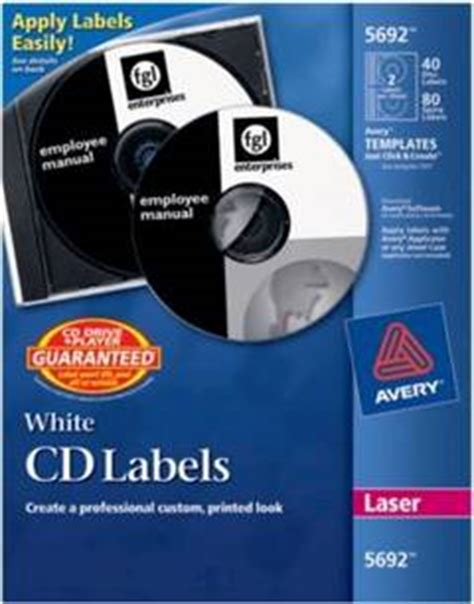 officemax label template avery laser cddvd labels pack of 40 by office depot
