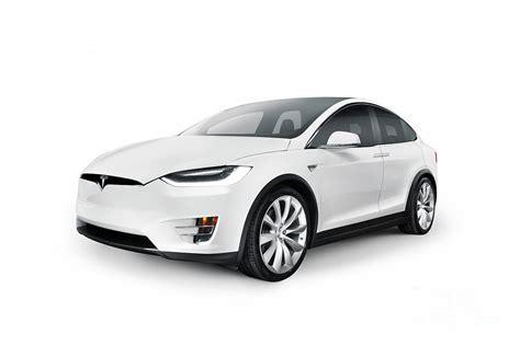 2017 white tesla model s white 2017 tesla model x luxury suv electric car isolated