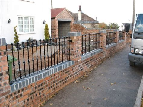Garden Wall Railings Garden Wall Bricklaying In York