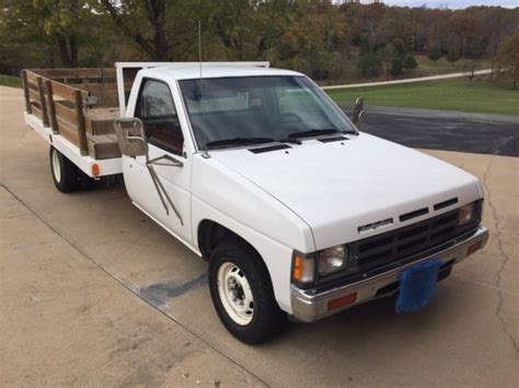 1990 nissan truck 1990 nissan flatbed truck