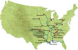 waterways map waterway map