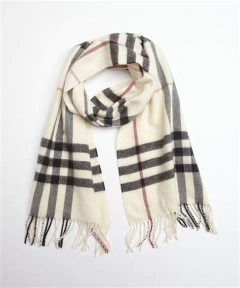 Burberrys Signature Pattern Checks Out And Win 100 To Spend At River Island The Best Stories From Shiny Media by Burberry Ivory Check Scarf In White For