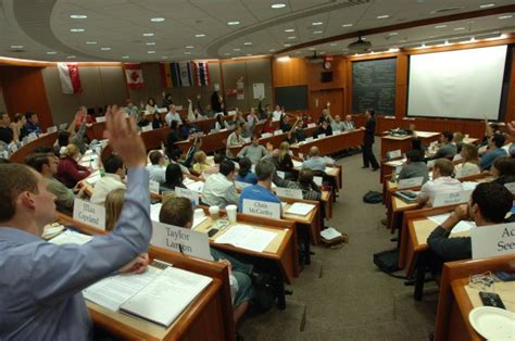 Mba Classroom by Cost Of Mba At Harvard Business School Study In Us